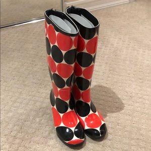 Brand new Kate Spade Rain boots